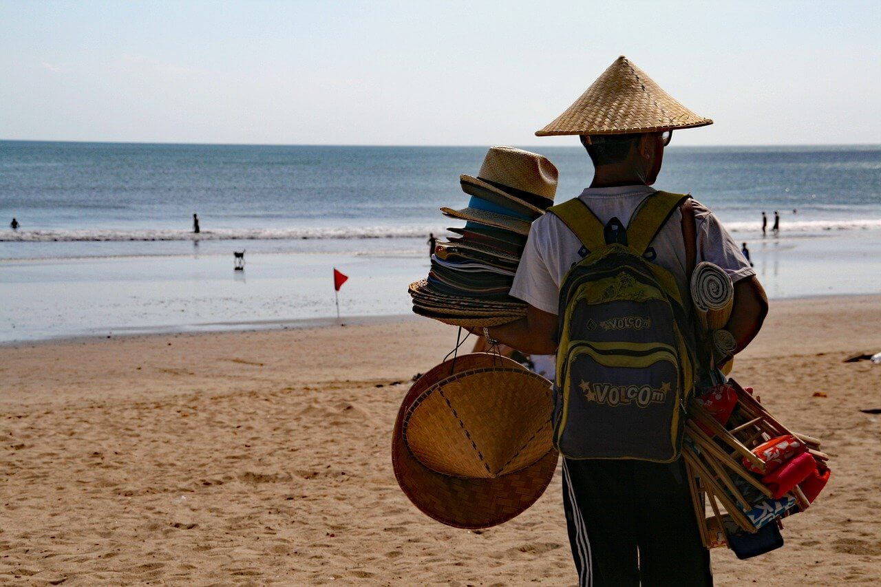 Litter in Bali