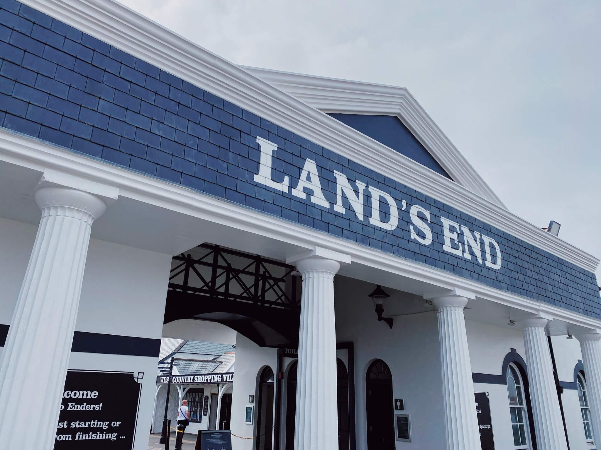 Places to visit in Cornwall Lands End