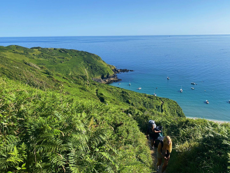 South West Coast Path Fowey Cornwall
