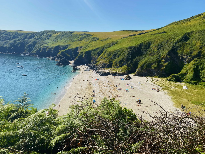 Lantic Bay Cornwall Beaches