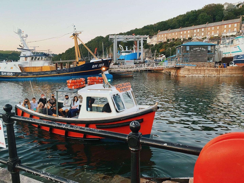 The Polruan Ferry Fowey